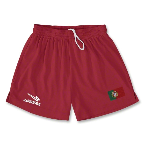 Portugal Primera Soccer Shorts (Red)