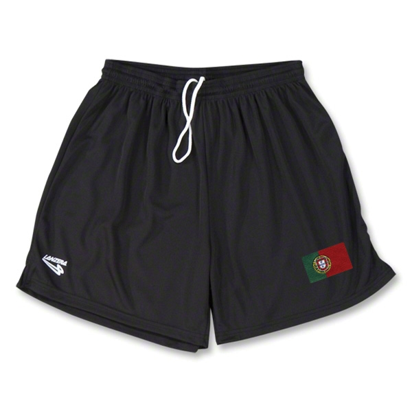 Portugal Primera Soccer Shorts (Black)