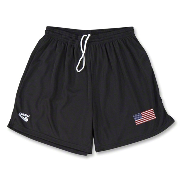 USA Primera Soccer Shorts (Black)