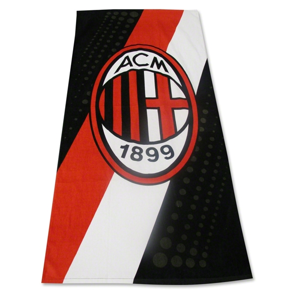 AC Milan Stripe Bath Towel