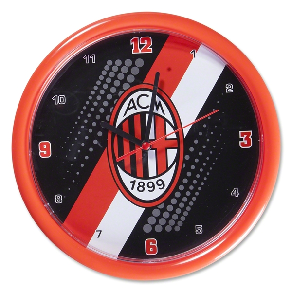 AC Milan Stripe Wall Clock