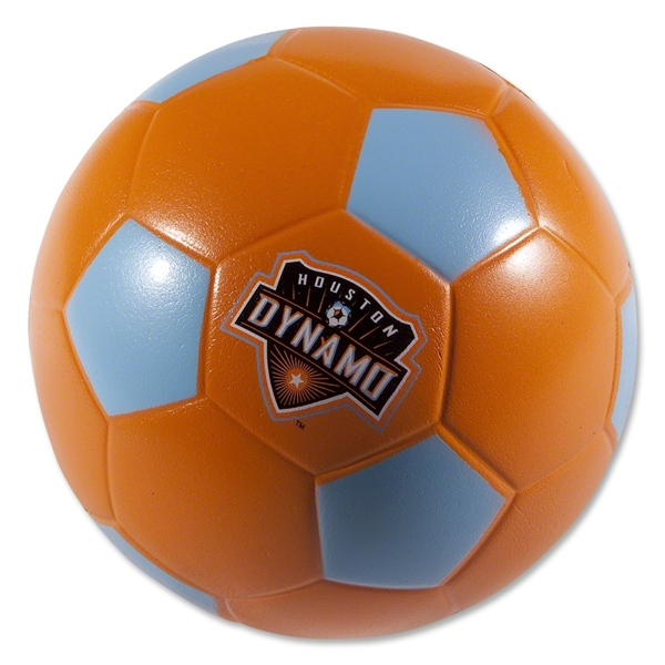 Houston Dynamo Foam Soccer Ball