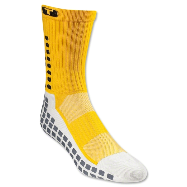 TRUSOX Crew Length Sock-Cushion (Gold)