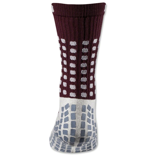 TRUSOX Crew Length Sock-Thin (Maroon)
