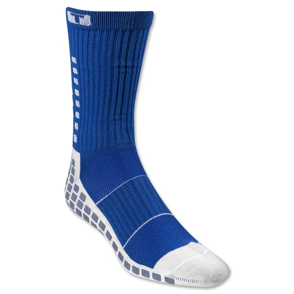 TRUSOX Crew Length Sock-Thin (Royal)