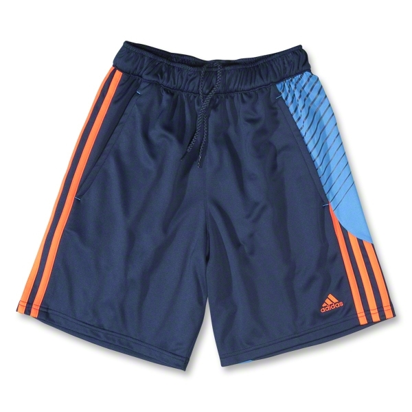 adidas Youth Predator Training Short (Nv/Orange)
