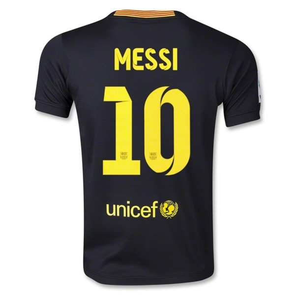 Barcelona 13/14 MESSI Youth Third Soccer Jersey