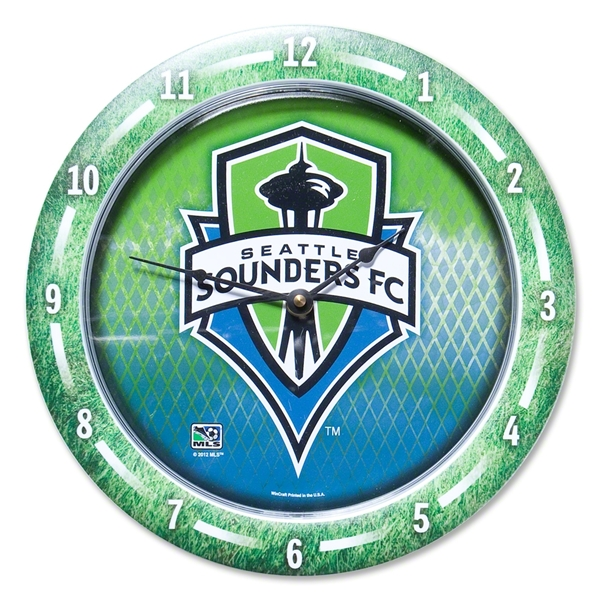 Seattle Sounders Game Round Clock