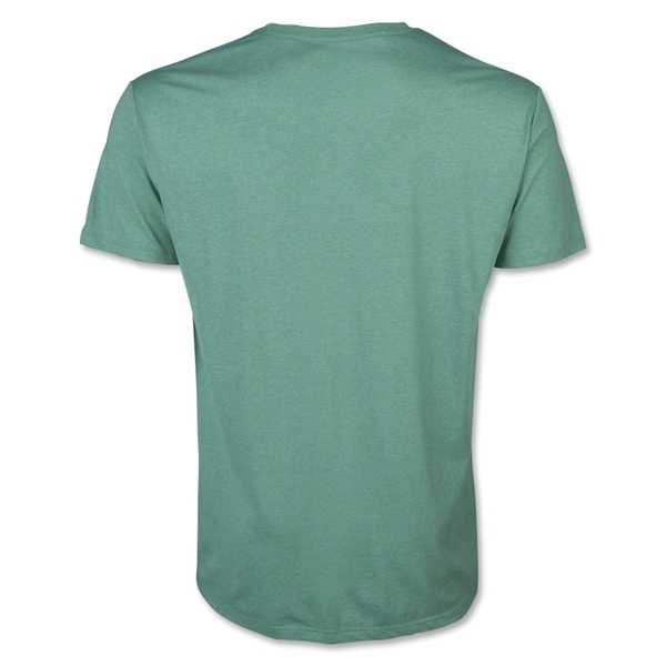 Men's V-Neck Tee (Heather Gr)