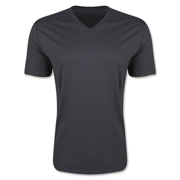 Men's V-Neck Tee (Heather Sv)