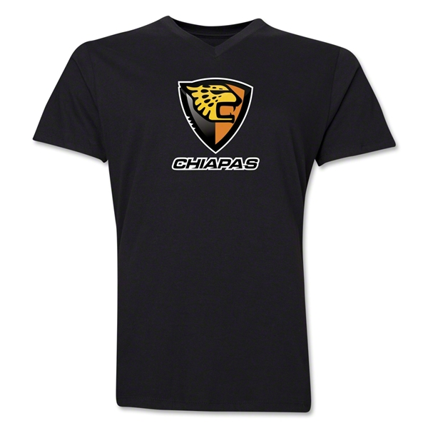 Jaguares V-Neck T-Shirt (Black)
