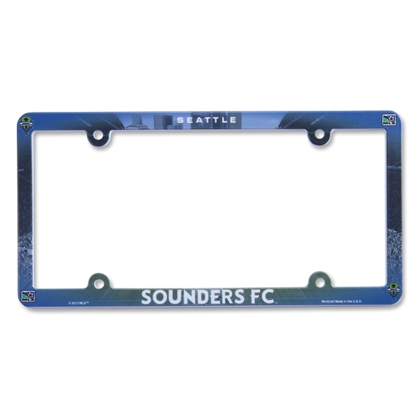 Seattle Sounders FC Molded License Plate Frame
