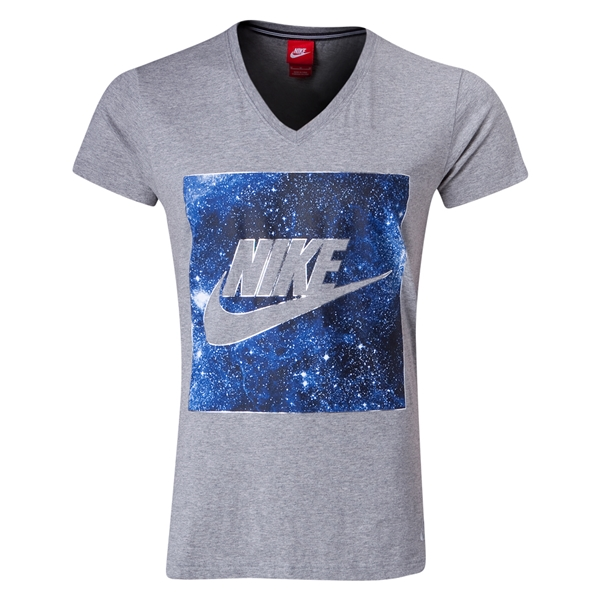 Nike CR V-Neck Top (Dark Gray)