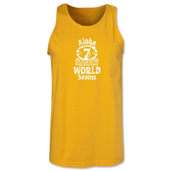 Aloha World Sevens Tank Top (Gold)