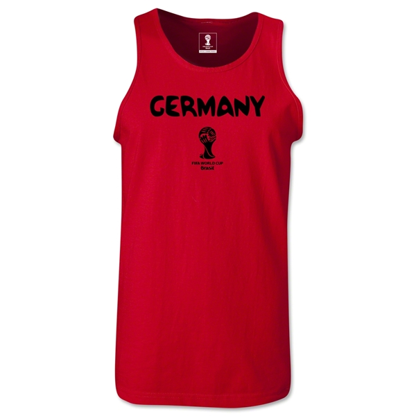 Germany 2014 FIFA World Cup Brazil(TM) Men's Core Tank Top (Red)