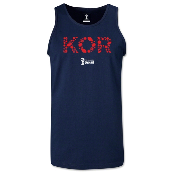 South Korea 2014 FIFA World Cup Brazil(TM) Men's Elements Tank Top (Navy)