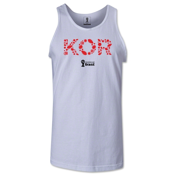 South Korea 2014 FIFA World Cup Brazil(TM) Men's Elements Tank Top (White)