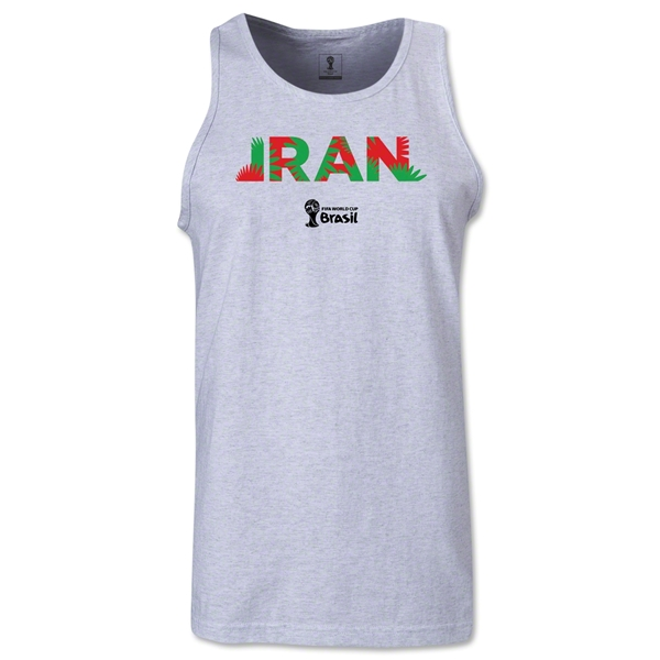 Iran 2014 FIFA World Cup Brazil(TM) Men's Palm Tank Top (Ash)