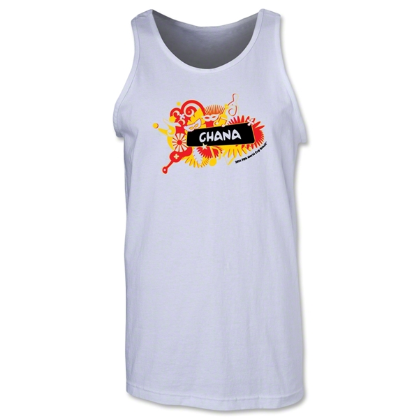 Ghana 2014 FIFA World Cup Brazil(TM) Men's Celebration Tank Top (White)