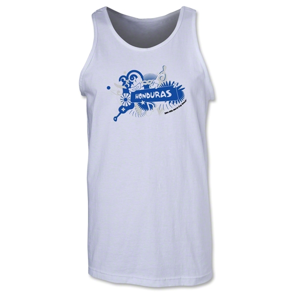 Honduras 2014 FIFA World Cup Brazil(TM) Men's Celebration Tank Top (White)