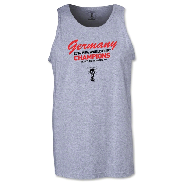 Germany 2014 FIFA World Cup Brazil(TM) Men's Champions Tank Top (Grey)