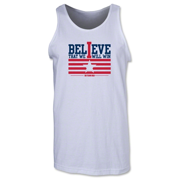 I Believe Tank Top (White)