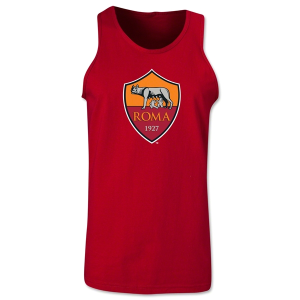 AS Roma Crest Tank Top (Red)