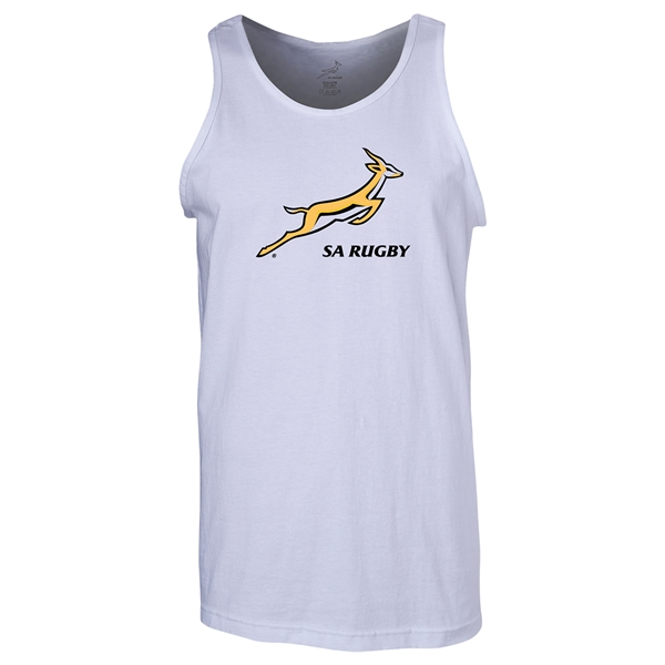 South Africa Springboks Men's Tank Top (White)