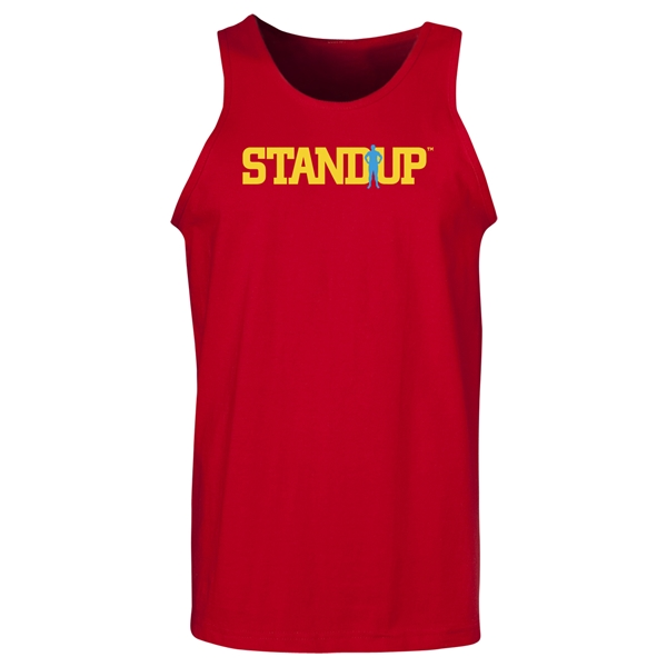 StandUp Logo Tank Top (Red)