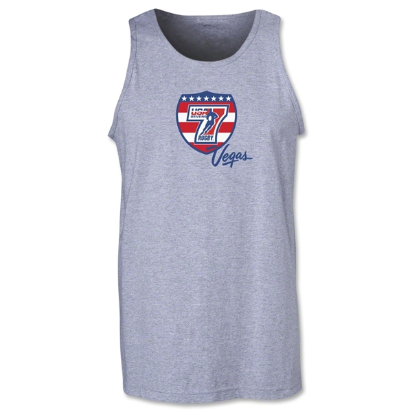 USA Sevens Vegas Rugby Tank Top (Gray)