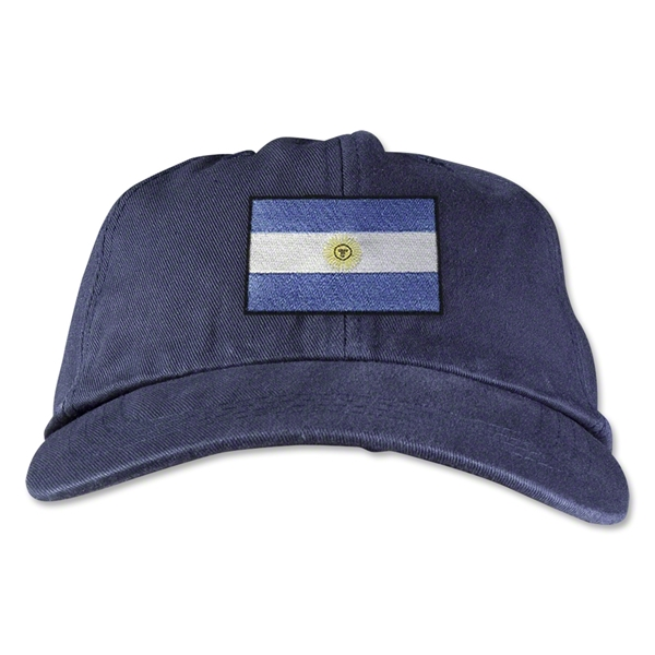 Argentina Unstructured Adjustable Cap (Navy)