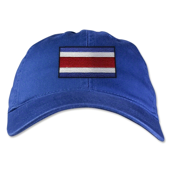 Costa Rica Unstructured Adjustable Cap (Royal)
