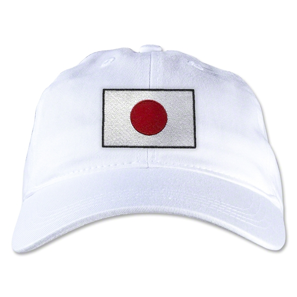 Japan Unstructured Adjustable Cap (White)