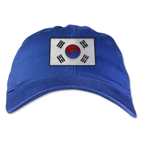 South Korea Unstructured Adjustable Cap (Royal)