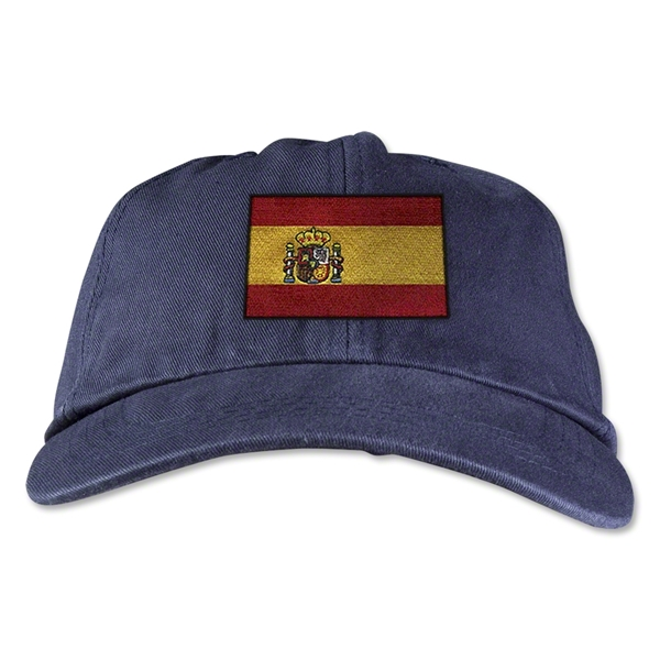Spain Unstructured Adjustable Cap (Navy)