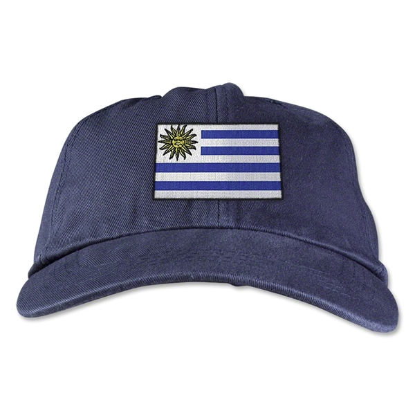 Uruguay Unstructured Adjustable Cap (Navy)