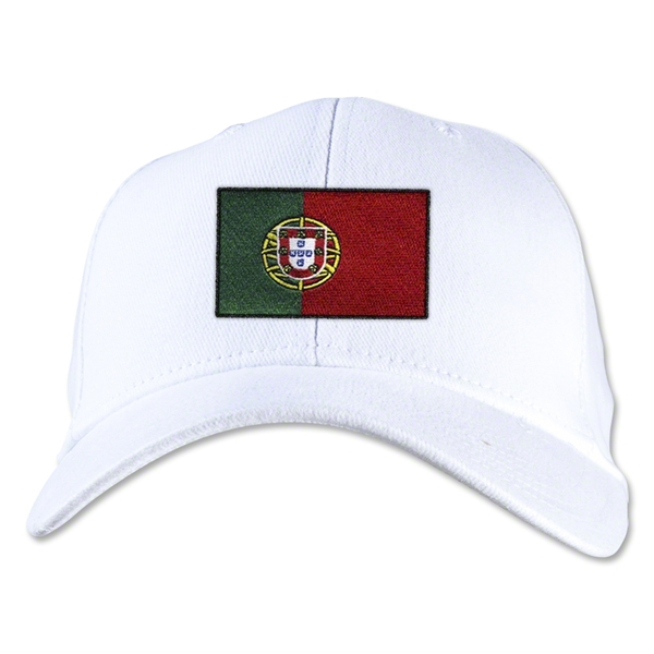 Portugal Flexfit Cap (White)