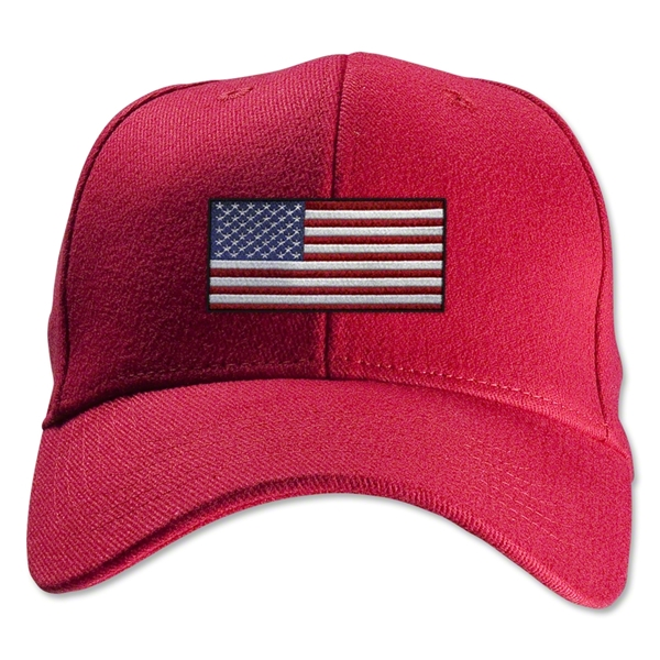 USA Flexfit Cap (Red)