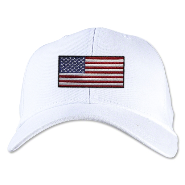 USA Flexfit Cap (White)