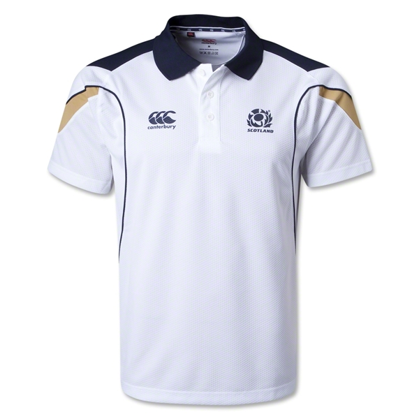 Scotland Supporter Polo (White)