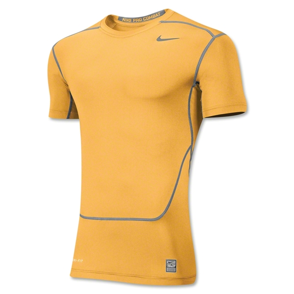 Nike Core 2.0 Compression Top (Yellow)