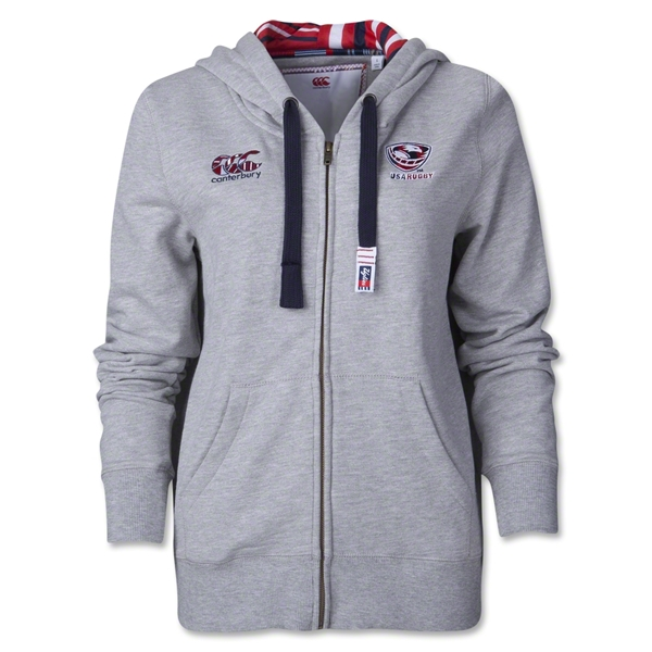 USA Rugby Womens Uglies Full Zip Hoody