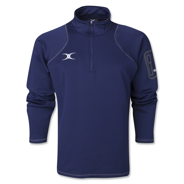 Gilbert Quest 1/4 Zip Micro Fleece (Navy)