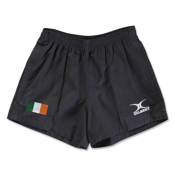 Ireland Flag Kiwi Pro Rugby Shorts (Black)