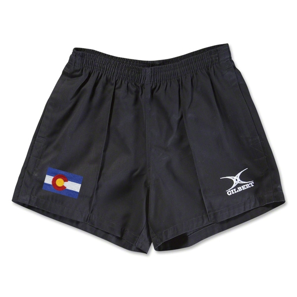Colorado Flag Kiwi Pro Rugby Shorts (Black)