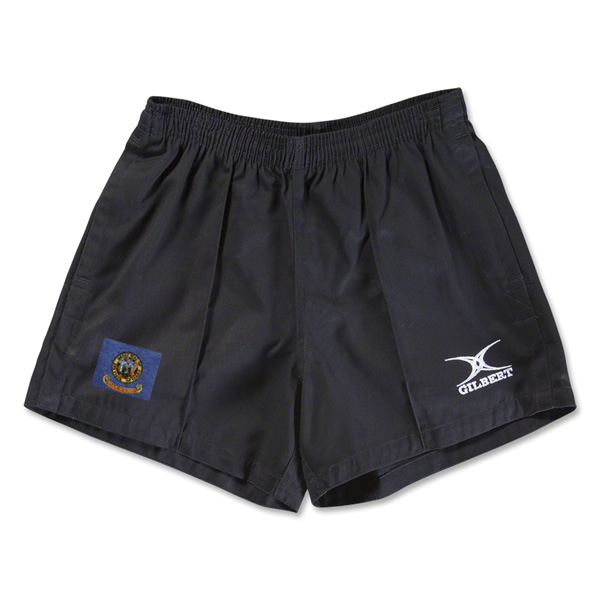 Idaho Flag Kiwi Pro Rugby Shorts (Black)