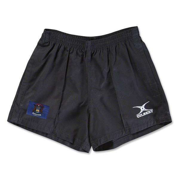 Michigan Flag Kiwi Pro Rugby Shorts (Black)