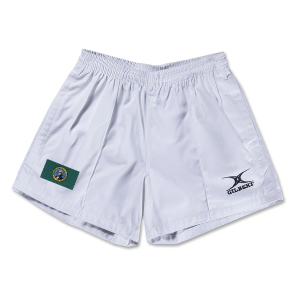 Washington Flag Kiwi Pro Rugby Shorts (White)
