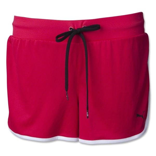 PUMA Women's Knit Overtime Short (Pink)