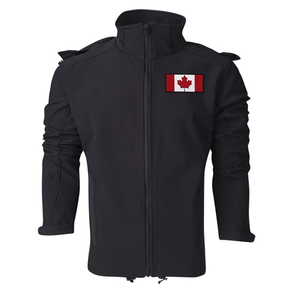 Canada Performance Softshell Jacket (Black)